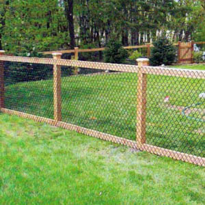 we have the tools and expertise to handle most types of chainlink fence jobs our specialty is smaller residential chainlink fence